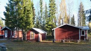 Metsästysmaja Haapakummussa vuonna 2014.